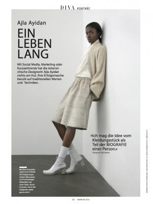 Diva Magazine Ajla Ayidan