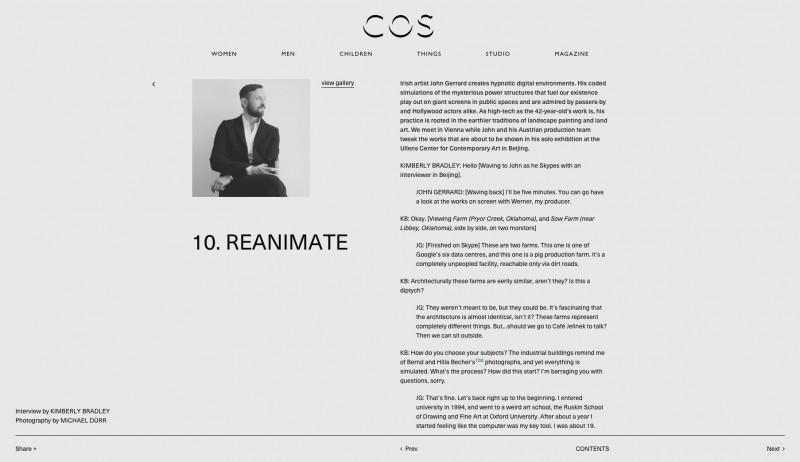 COS Magazine (c) by Michael Dürr