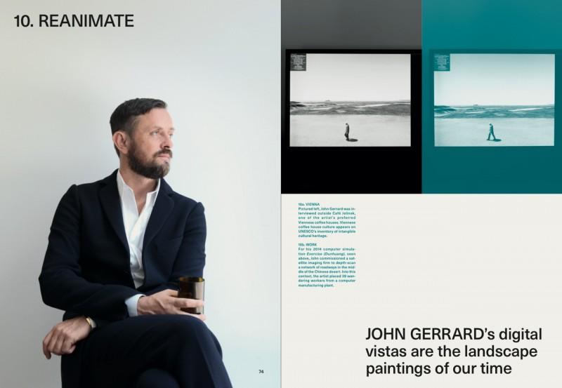 John Gerrard (c) by Michael Dürr : Cos Magazine 1
