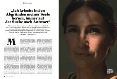 Ute Woltron Stern Magazine (c) Michael Dürr 1