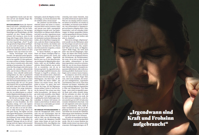 Ute Woltron Stern Magazine (c) Michael Dürr 2