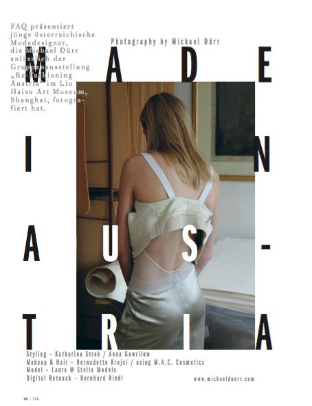 Laura Strantz (c) by Michael Dürr for FAQ magazine 1.