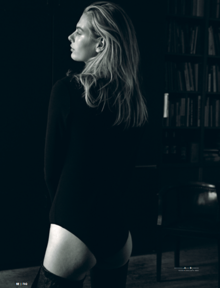 Laura Strantz (c) by Michael Dürr for FAQ magazine 5