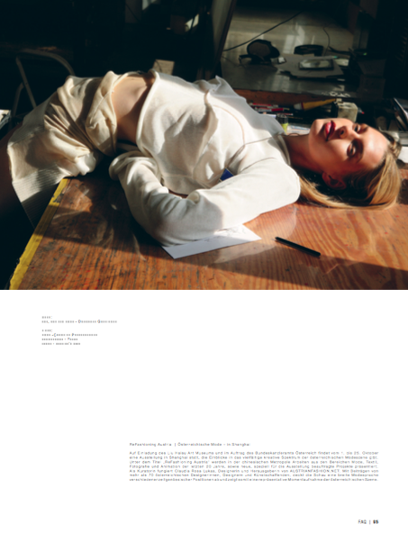 Laura Strantz (c) by Michael Dürr for FAQ magazine 8