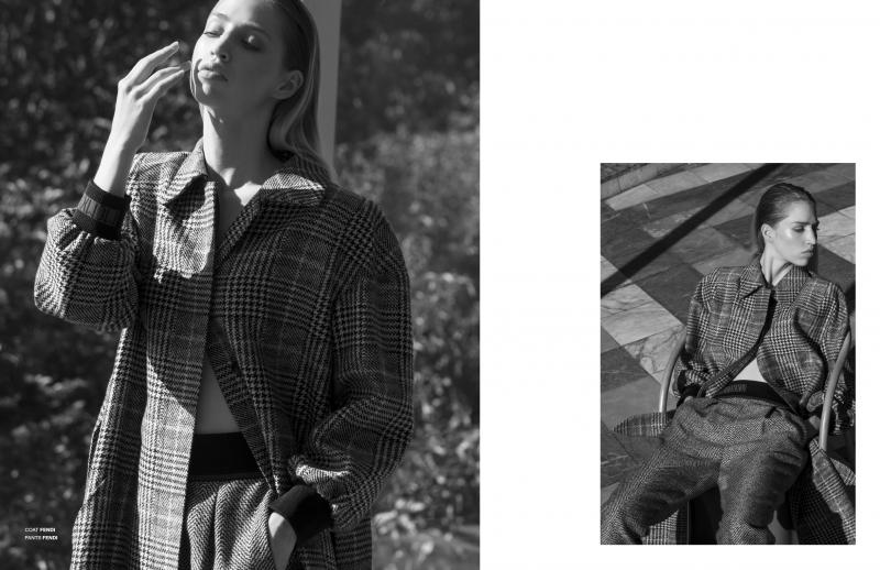 Maja Holm (c) Michael Dürr for Soma Magazine 5