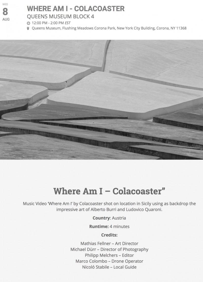 colacoaster (c) michael dürr queens museum new york