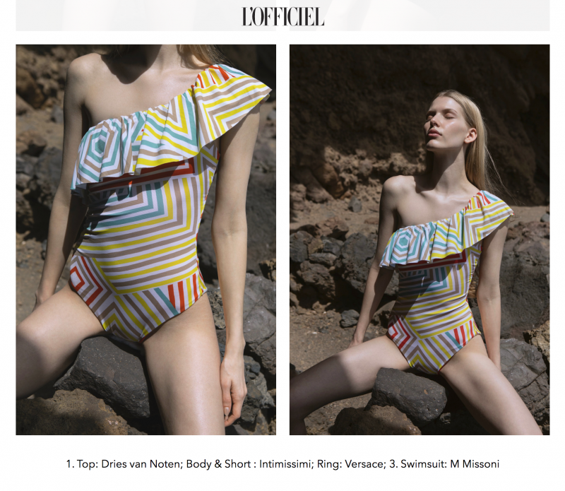4 L'Officiel Magazine Swimwear Lanzarote (c) Michael Dürr