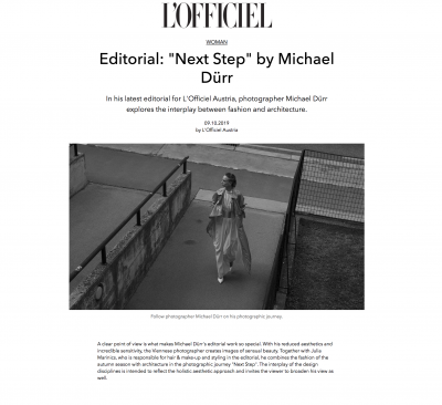 L'Officiel Magazine (c) Michael Duerr 1